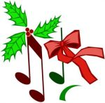 Christmas_music notes