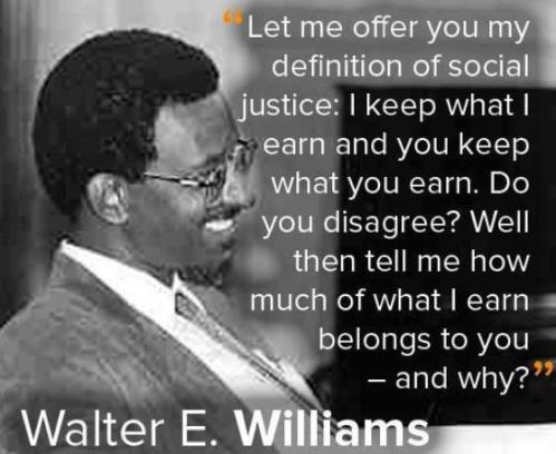 Walter Williams_no to my money