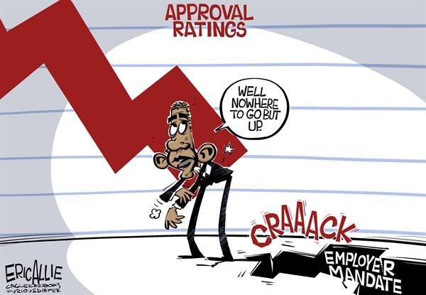 Eric Allie_Obama approval rating