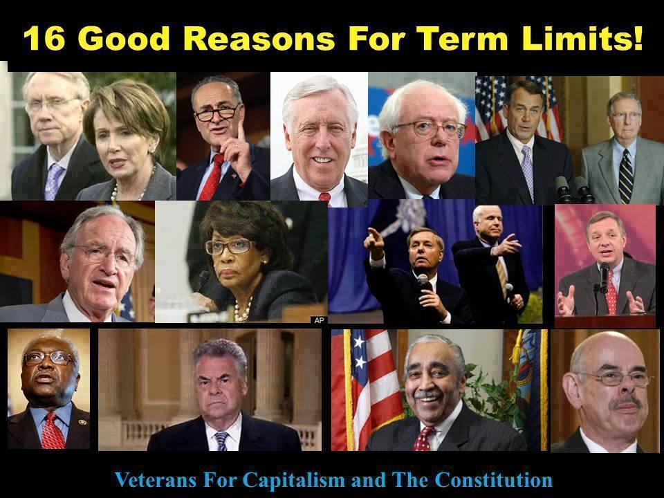 Does congress have term limits