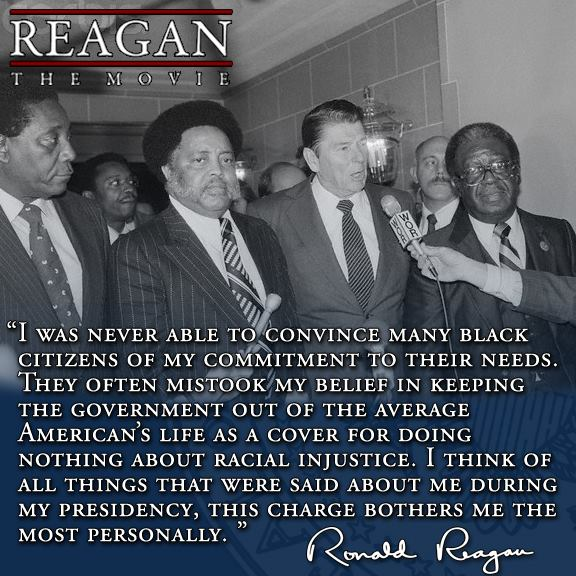 Black Leaders_Reagan